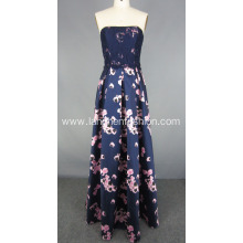 New Design Off Shoulder Long Evening Dress