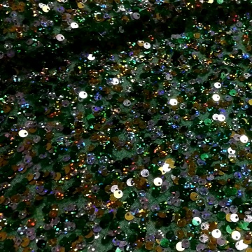 5mm Hologram Sequin Mesh Tulle Backdrop Fabric