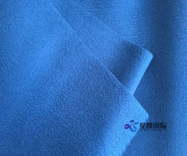 Water Wave Wool Coating Fabric