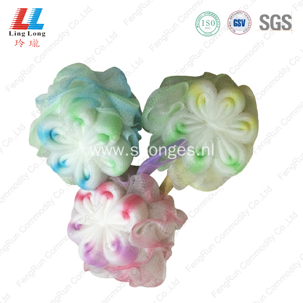 body loofah flower bath Sponge mesh item