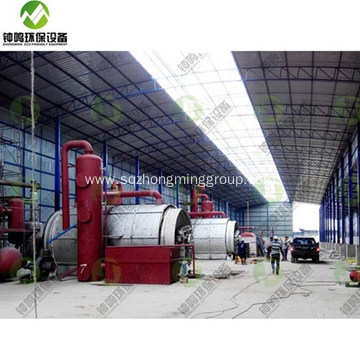 5-15TPD Plastic Pyrolysis Oil Distillation Plant