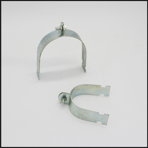Fixed pipe clamps and supports for installation heating