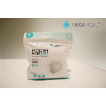 3D N95 Face Mask Disposable white
