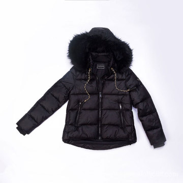 Women`s Fake Down Jacket