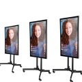 "43"" mobile live broadcast display touch screen"