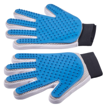 Enhanced Five Finger Pet Grooming Glove
