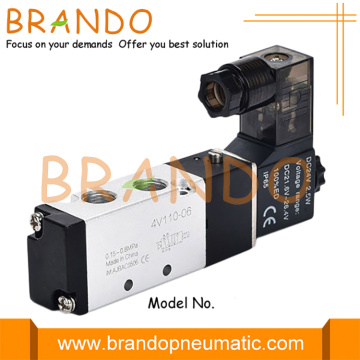 AirTac Type 4V110-06 1/8'' Single Solenoid Pneumatic Valve