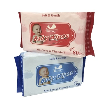 natural fragrance free tender Baby wet Wipes