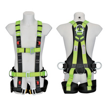 Polyester Support Industrial Safety Harness with Waist Pad