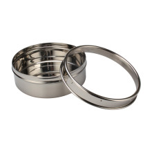 Stainless Steel Cookie Canister with Transparent Lid