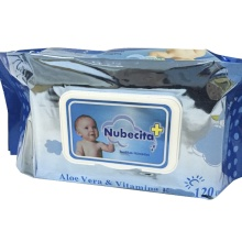 80pcs ISO Approved Vitamin E Baby Wet Wipes