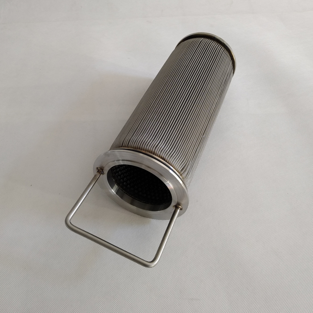 Stainless Steel Sintered Felt Basket Type Oil Filter