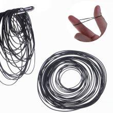 50Pcs/bag 1mm Universal Mix Cassette Tape Machine Belts Assorted Common Flat Rubber Belt 45-130mm for Recorders Walkman DVD