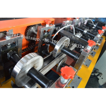 PU Shutter Door Octagon Pipe Roll Forming Machine