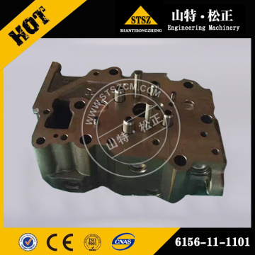 Komatsu cylinder head ass'y c for SA6D140-3