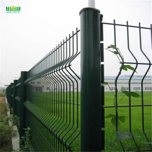 Welded wire mesh panel 3d  fence