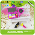 Fancy novelty Make-up box eraser set for girls