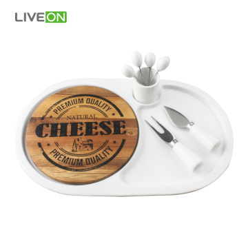 While Cheese Knife Set