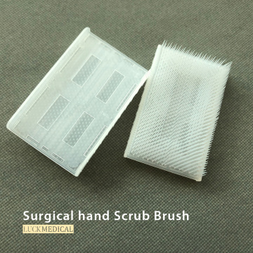 Disposable Medical Scrub Brush/Sponge With Nail Cleaner
