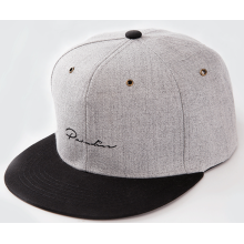 Embroidery Woven Fabric Two Colour Hip Hop Cap