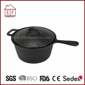 Cast Iron Pot With Handles
