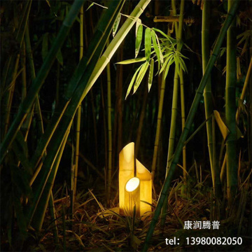 LED Bamboo Tube Landscape Lights