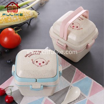 Multi-layer Bento Lunch Box Food Container