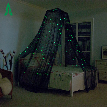 2020 most popular glowing star hanging mosquito nets