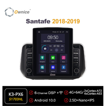 Ownice Octa 8 Core Android 10.0 Car Radio forHyundai Santafe 2018 - 2019 Multimedia Video Audio GPS Player head Unit 4G LTE