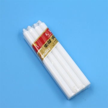 Decoration White Wax Pillar Candles