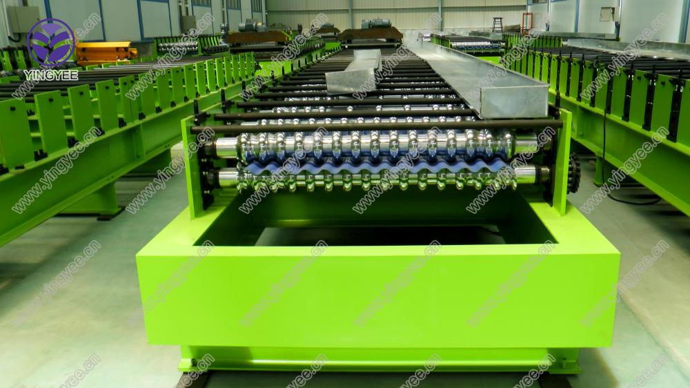 Corrugated Roof Roll Forming Machine From Yingyee03