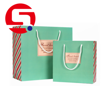 Small  paper gift bags with handles wholesale