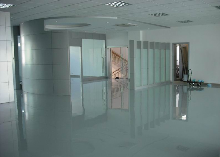 Self Leveling Epoxy Floor For Office