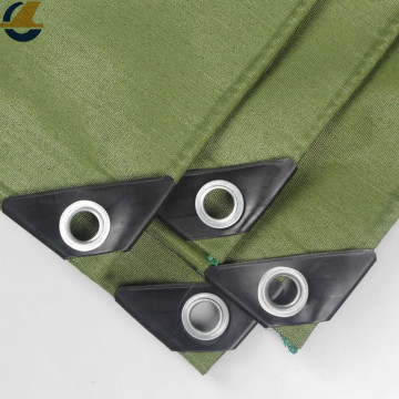 Heavy duty anti-UV polyester canvas tarp