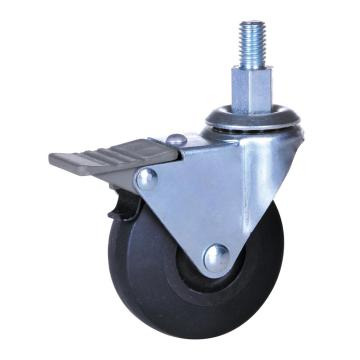 2.5inch PP swivel casters with brake