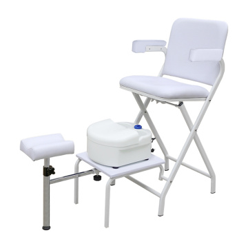 Folding Nail And Foot Spa Pedicure Chairs