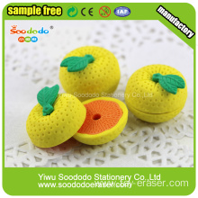 SOODODO 3D Lovely Pink Doll Shaped Eraser For Students