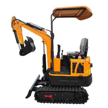 Cheap Price Chinese mini excavator small digger crawler excavator 1ton  for sale