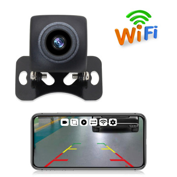 Wireless Backup Camera HD WIFI Rear View Camera for Car Vehicles WiFi Backup Camera with Night Vision IP67 Waterproof