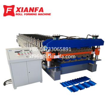 Double Layer Forming Machine for South Africa