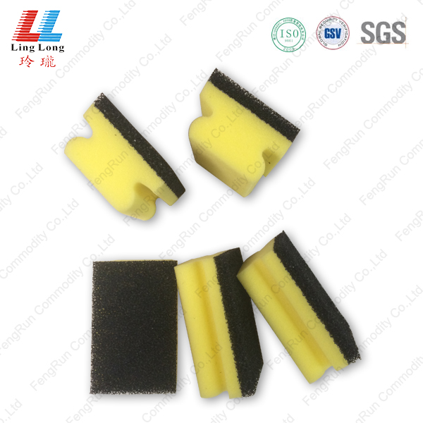 Heavy duty scouring sponge kitchen item