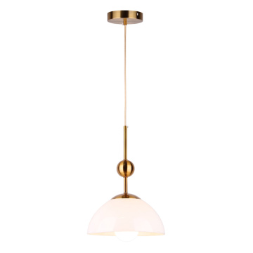 Simple glass pendant lamp