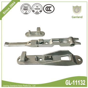 Forged Bar Lock Set Truck Back Door Lock