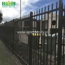 Powder Coating Wrought Iron Fence