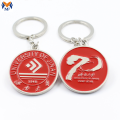 High Quality Custom Tourist Souvenir Enamel Keychain