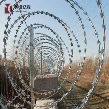Low price concertina razor barbed wire