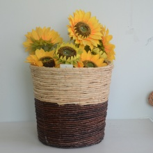 weaving handicraft storage basket