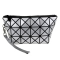 Custom Logo Hot Selling Geometric Iridescent Professional Cosmetic Bag For Women