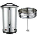 stainless steel electric coffee percolator urn