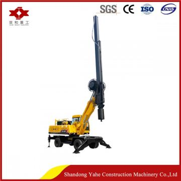 Wheel rotary pile driver corporation